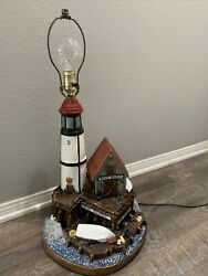 1978 Apsit Bros Boat House Lighthouse Table Lamp
