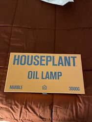 Seth Rogan X Houseplant Oil Lamp Table Lighter New Sold Out Marble 420 Weed