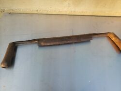Nice Antique Drawknife / Shaving Knife, Part Of Collection