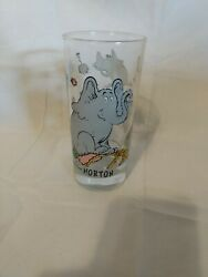 Dr. Suess Horton Hears A Who Drinking Glass