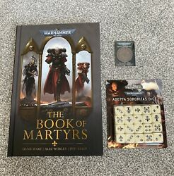 Adepta Sororitas Bundle, Coin, Dice And The Book Of Martyrs, Sisters Of Battle.