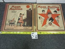 Lot Of 2 Vintage Willard Comic Book Moon Mullins Series 2 And Series 3 1928 And1929