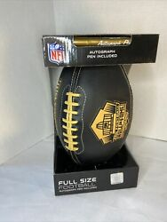 Pro Football Hall Of Fame Football W/autograph Pen Nfl