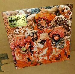 Baroness 2 Lp Records Gold And Grey Orange And Yellow Black Marble Colored Vinyl