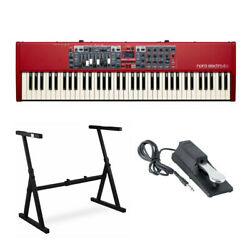 Nord Electro 6d 73 Key Semi Weighted Keyboard With Stand And Sustain Pedal