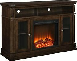 Brooklyn Electric Fireplace Tv Console For Tvs Up To 50, Espresso
