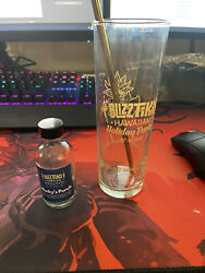 Blizzard Employee 2020 Holiday Party Items Glass Straw And Empty Bitter Bottle $1500.00