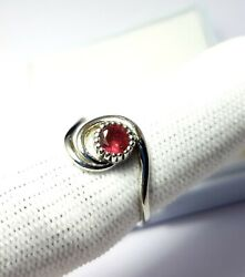 100 Rings Lot Natural Pink Tourmaline Ring 925sterling Silver Handmade Jewelry