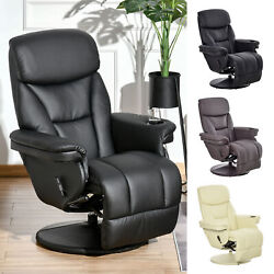 Thick Cushioned Adjustable Sofa Recliner Seat With Cup Holder And Side Pocket