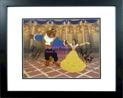 Signed Paige Oand039hara Robby Benson Voice Belle Of The Ball Disney Beauty And Beast