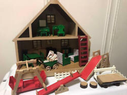 Sylvanian Families Calico Critters First House Set Vintage Rare Collection 77