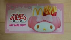 My Melody Mcdonald's Drink And Potato Holder Sanrio Limited Holder For Car Japan