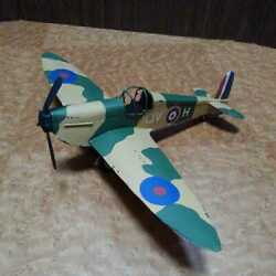 Tin Toys Airplane Collection Camouflage Pattern Military Very Rare Japan