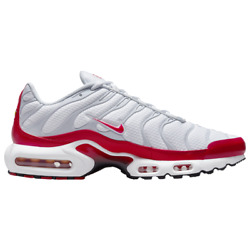 Nike Air Max Plus White Red Grey Black Dm8332-100 Men's Sizes 8-12 New With Tags