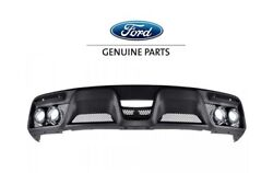 2015-2020 Shelby Gt350 Genuine Ford Fr3z-17f828-ab Quad Tip Exhaust Rear Valence