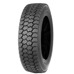 4-245/70r19.5 Goodyear G622 Rsd 133l G/14 Ply Bsw Tires