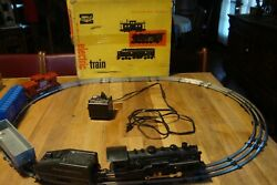 Allstate Sears Roebuck Electric Train Set Vintage No 9735 - Complete