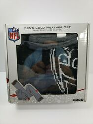Baltimore Ravens Men's Cold Weather Set Scarf And Gloves