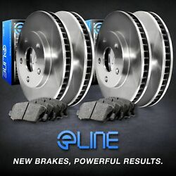 [complete Kit] Eline Replacement Brake Rotors And Heavy Duty Brake Pads
