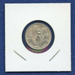 1992 Mexico Fractional Onza Libertad Winged Victory 1/10 Oz Silver - Rare
