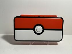 Nintendo 2ds Xl Pokemon Pokeball Special Edition Console Free Shipping