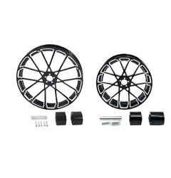 21 Front And 18'' Rear Wheel Rim Hub Fit For Harley Electra Street Glide 2008-21