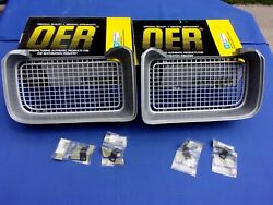 New 1969 Firebird Trans Am Front Grill Pair Lh And Rh Oer Gm Licensed Parts