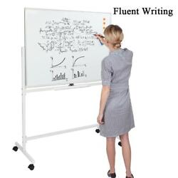 47 X 35 Dry Erase Board With Stand Large Mobile Magnetic Whiteboard Comercial