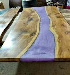 Handmade Epoxy Resin Dining Table Top Sofa Center Table Furniture Made To Order