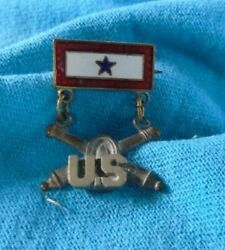 Sweet Heart Jewelry Son In Service With Us And Coastal Artillery Logo