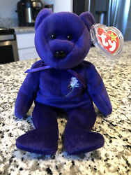 Diana Princess Of Wales Princess Ty Beanie Baby 1997 - Retired Rare Find