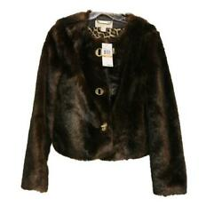 New Faux Mink Sable Fur Jacket Womenand039s Size Small Coat Winter 295