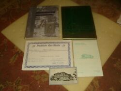 1938 And 1939 Galion, Ohio High School Yearbooks + Postcard And Extras Free Ship