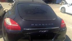 Trunk/hatch/tailgate S Hybrid With Spoiler Fits 10-13 Porsche Panamera 901976