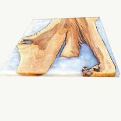 White River Epoxy Table Wooden Furniture Resort,dining Decorative Made To Order
