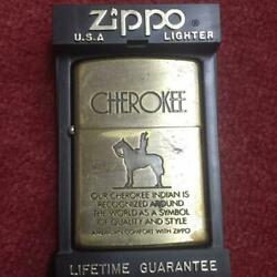 Zippo Collector's Must-see Cherokee Indian Brass