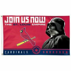 St. Louis Cardinals Wincraft 3' X 5' Star Wars One-sided Flag