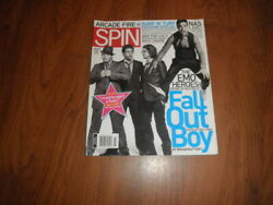 Vintage Spin Magazine-fall Out Boy_arcade Fire -mint Copy