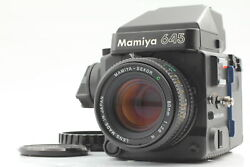 [top Mint] Mamiya M645 Super Ae Finder W/ Sekor C 80mm F2.8 N Lens From Japan