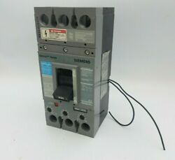 Siemens Fxd63b200 Circuit Breaker 200a 3p 600v Type Fxd6-a 200 Amp Shunt Trip