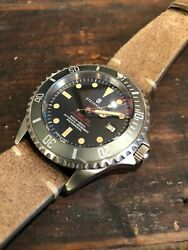 Steinhart Ocean 1 Vintage Red With Faded Ghost Bezel 42mm With Sapphire Crystal