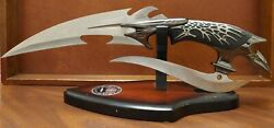 Ff207 Gil Hibben 2001 Scorpion Signature Issue First Production 3727 W/ Stand
