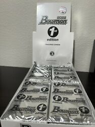 2021 Bowman Baseball 1st Edition - 1 One Sealed Pack Topps Cards