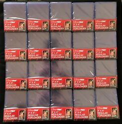 Ultra Pro Regular 500 Count Half Case 3x4 Toploaders New Sealed 20 X 25 Ct