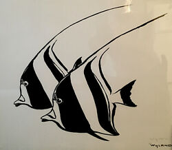 """Wyland """" Reef Fish """" Signed And Numbered W/coa. Make An Offer Message Me"""