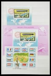 Lot 33909 Stamp Collection Hungary Souvenir Sheets 1977-2010.