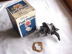 Vintage Fuel Pump Glass Bowl Style Fits Willys Jeep Mb Gpw Fits Many Jeeps Nos
