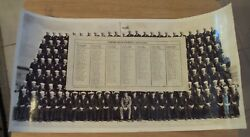 Rare 1944 Wwii Us Navy Training Base Company 4022 Group Photo W/roster