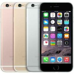 New Sealed Iphone 6s 64gb Unlocked Gray Rose Gold Silver - 1 Yr Warranty