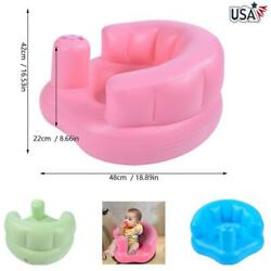 Inflation Seat Baby Chair Learn Bath Sit Seat Stool Infant Dinning Training Sofa